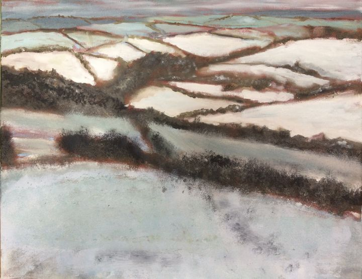 Snowy Hills - John Mulberry art