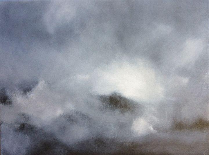 The Shrouded Hills - John Mulberry art