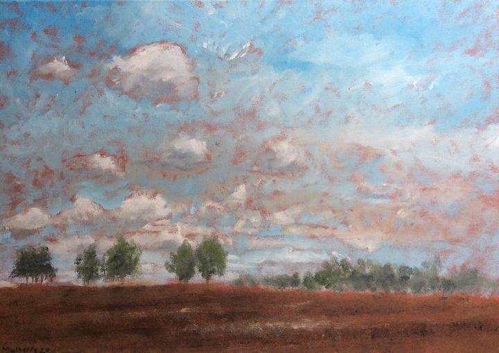 Suffolk Sky - John Mulberry art