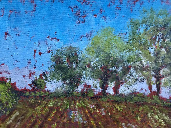 The Fodder Beet Field - John Mulberry art