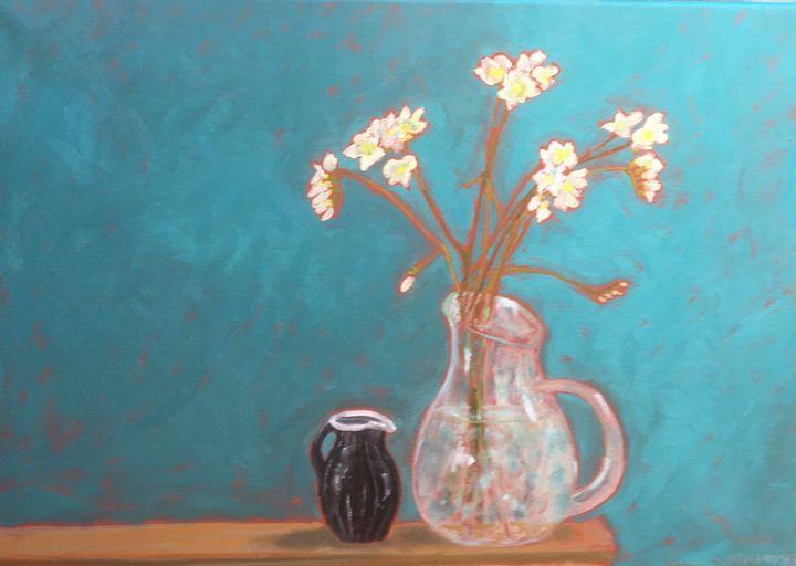 Freesias - John Mulberry art