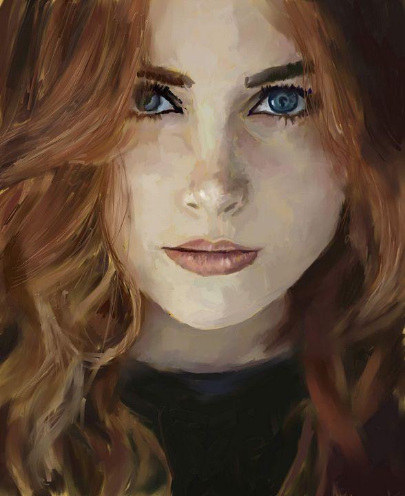 Portrait study - Ian Banks Art