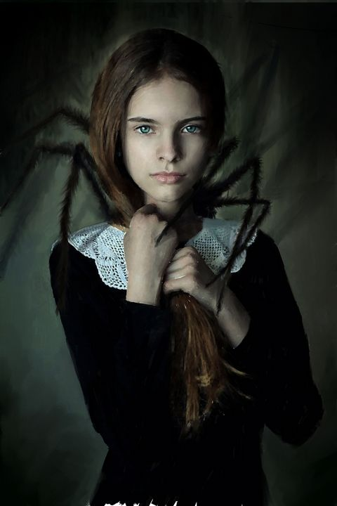 Spider Baby - Ian Banks Art