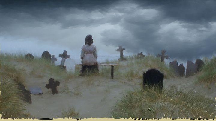 The approaching Storm - Ian Banks Art