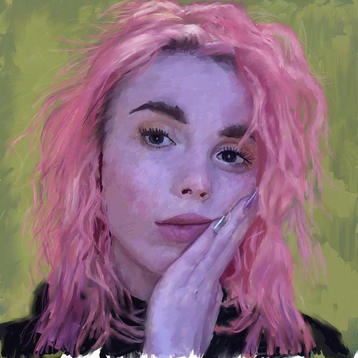 Portrait of Izzy - Ian Banks Art