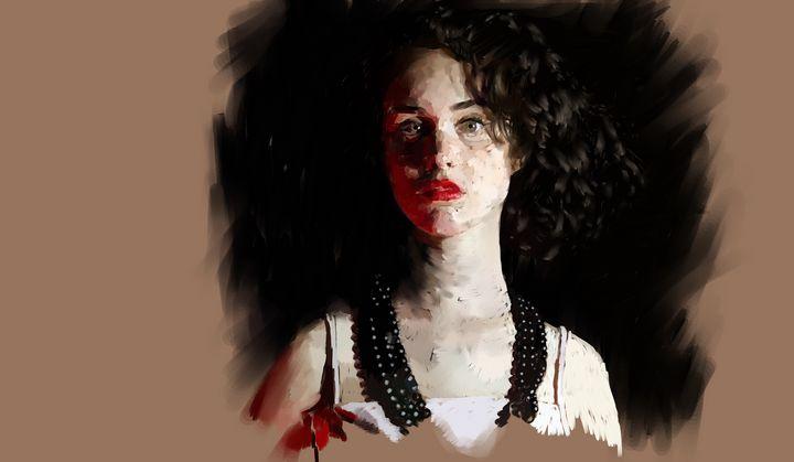 Red study - Ian Banks Art