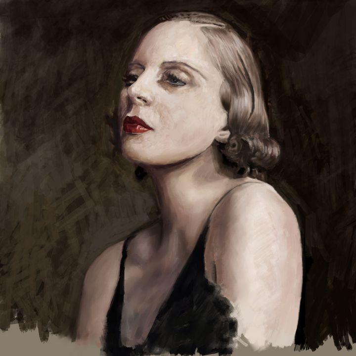 1920s study - Ian Banks Art