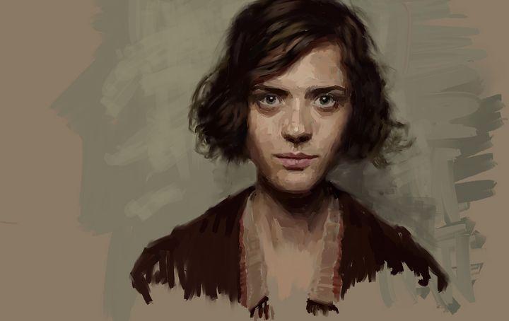 Portrait - Ian Banks Art