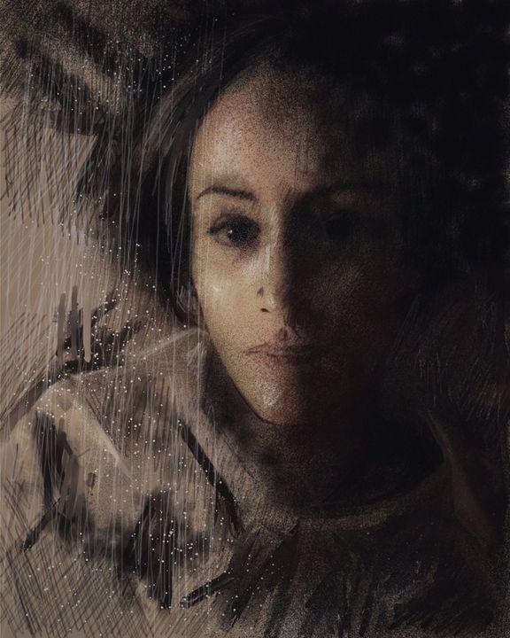 Julie - Ian Banks Art