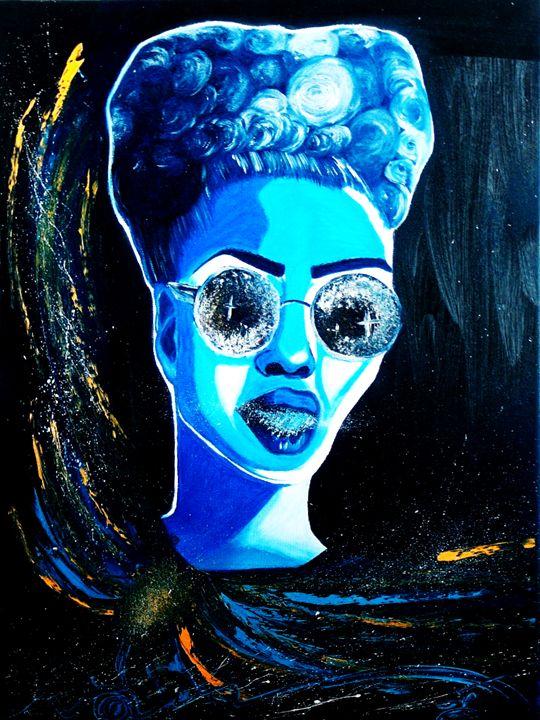 Oil Painting || weirdo - harmony island || by cugaj