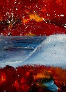 Oils Painting    ocean love