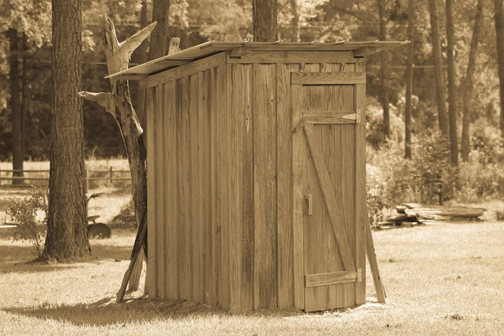 The Outhouse - Michael's Seeking Light Photography