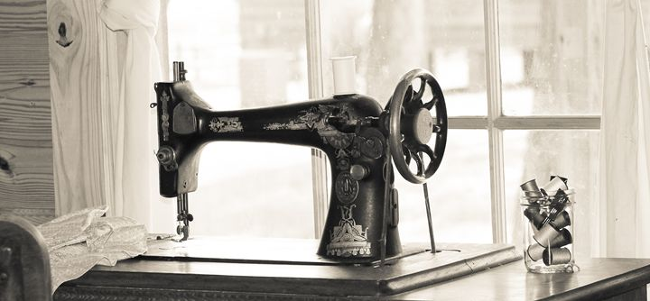 The Sewing Machine - Michael's Seeking Light Photography