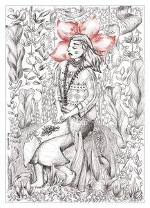 Filipino Indigenous Woman