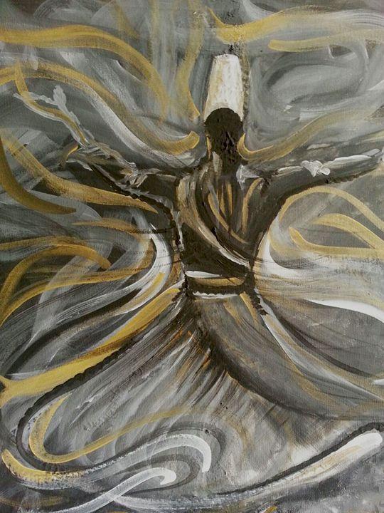 Dancing in Dream - Parisa Dehban Art