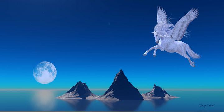 Pegasus by Ocean - Corey Ford Gallery LLC