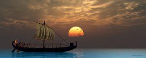 Ancient Egyptian Ship