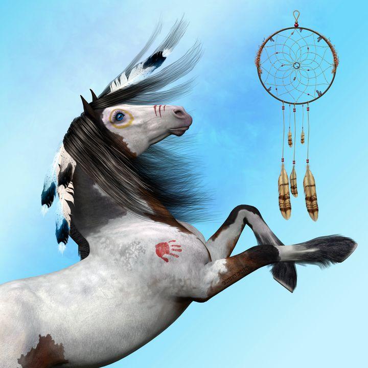 Indian Pony - Corey Ford Gallery LLC
