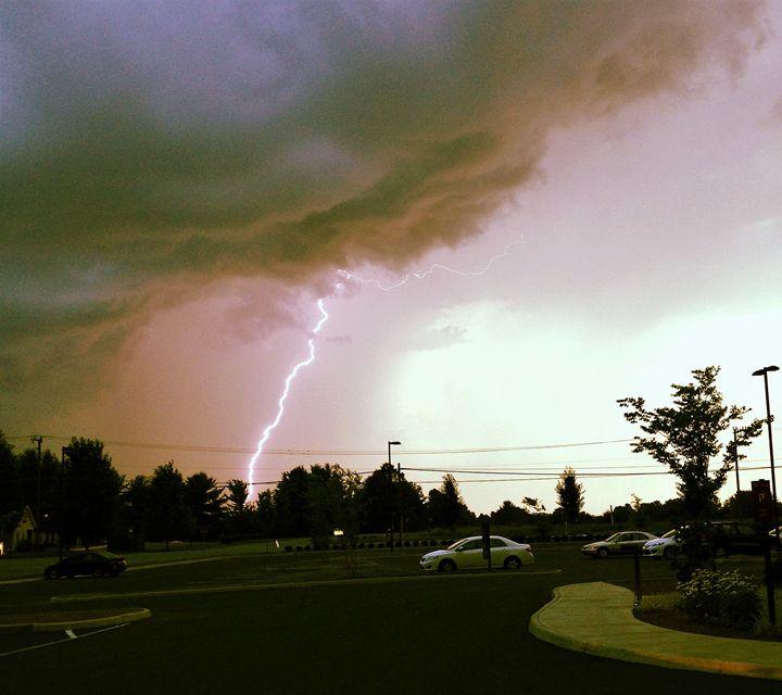 Lightening Strike in Charlottesville - SLPeders