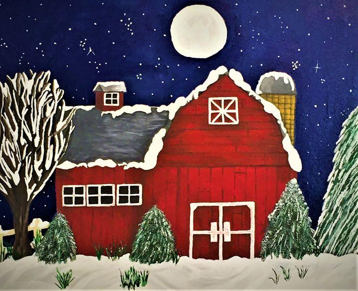 winter on the farm - SLPeders