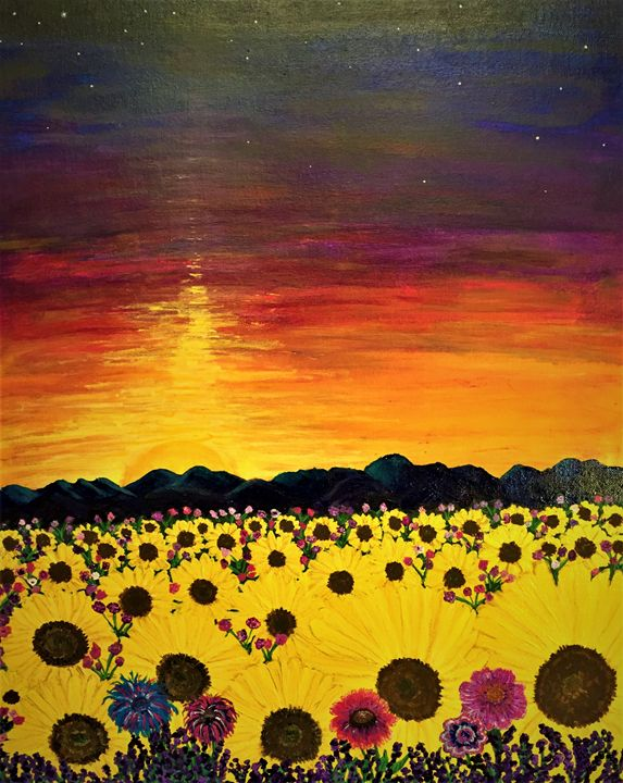 sunflowers - SLPeders