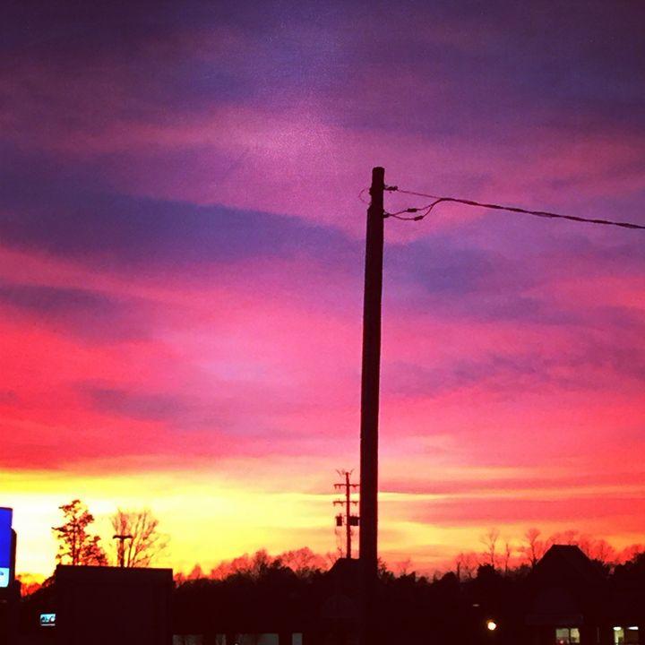 Sunset in Ruckersville, VA - SLPeders