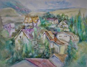 Little Town - NanaGaleVan Fine Art