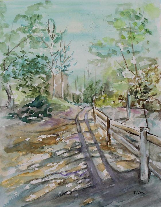Trail - NanaGaleVan Fine Art