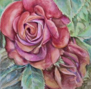 Pink Roses 2 - NanaGaleVan Fine Art
