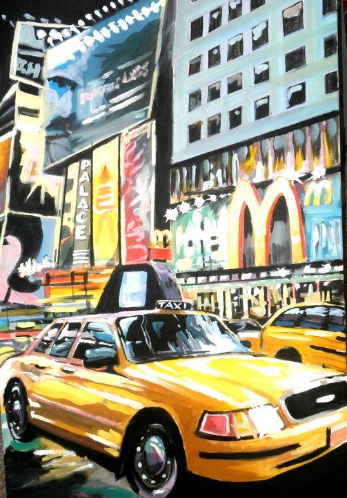 Taxi downtown - allan dickson
