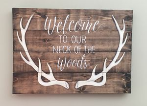 Custom Hand Painted Pallet Sign