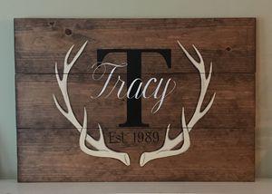 Custom Rustic Wood Pallet Sign