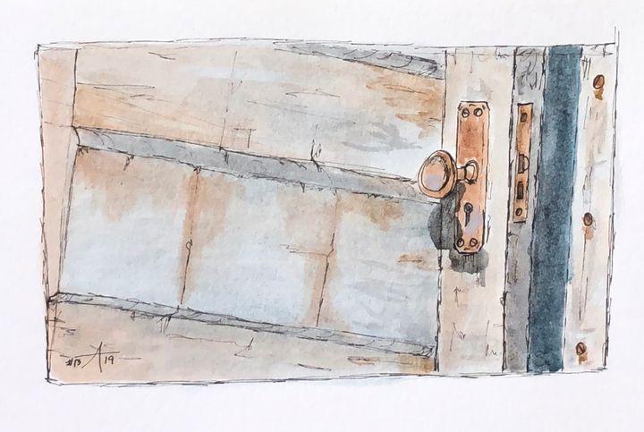 Vintage Door - Adam Spiker