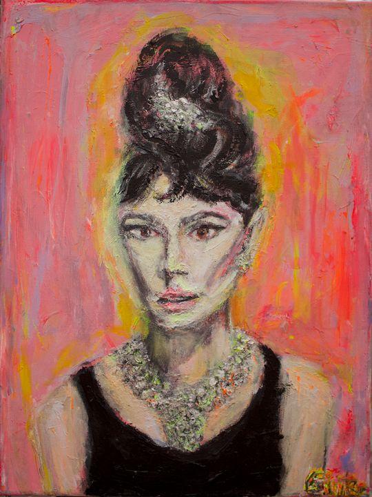 Audrey - Art by Patrick