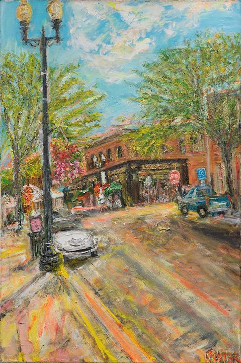 Downtown Excelsior! - Art by Patrick