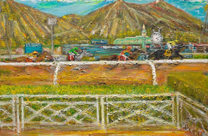 Santa Anita - Art by Patrick