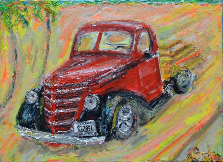 Deans Ford Pickup - Art by Patrick