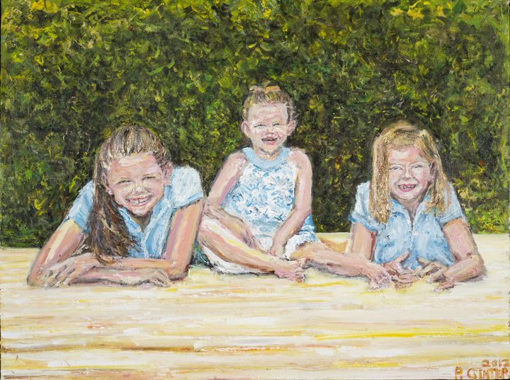 Three daughters or three sisters. - Art by Patrick