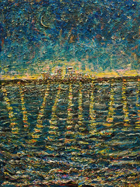 Starry Night Minneapolis!  #2 - Art by Patrick
