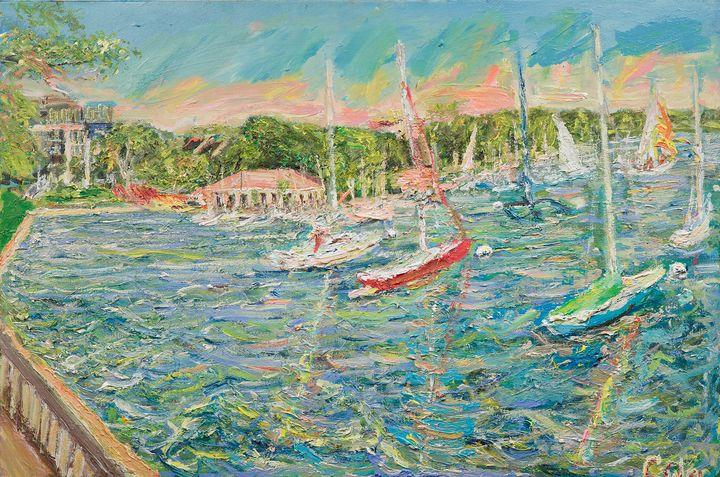 Lake Calhoun - Art by Patrick