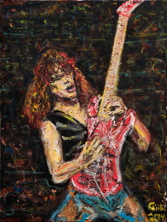 Eddie - Art by Patrick