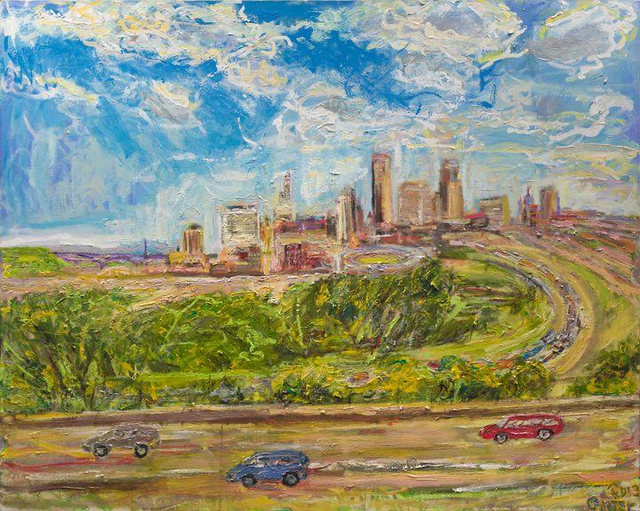 East St. Paul - Art by Patrick