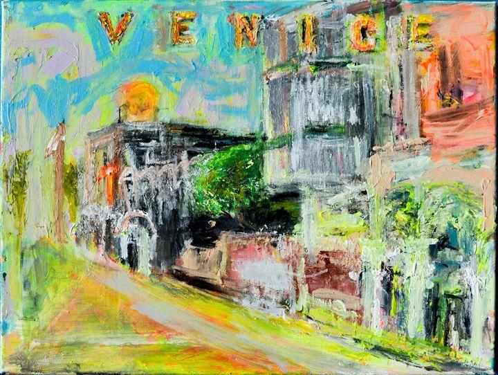 Venice Beah California - Art by Patrick