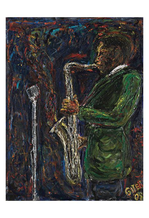 Coltrane - Art by Patrick