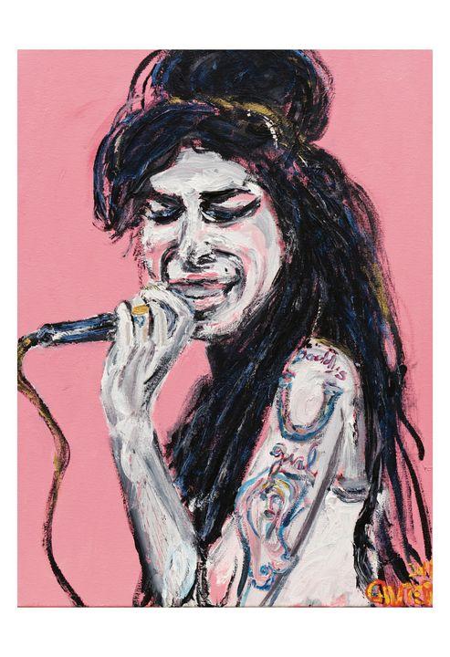 Amy - Art by Patrick