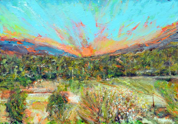 New venus sunset! - Art by Patrick