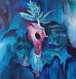 Fluid Acrylic on Canvas