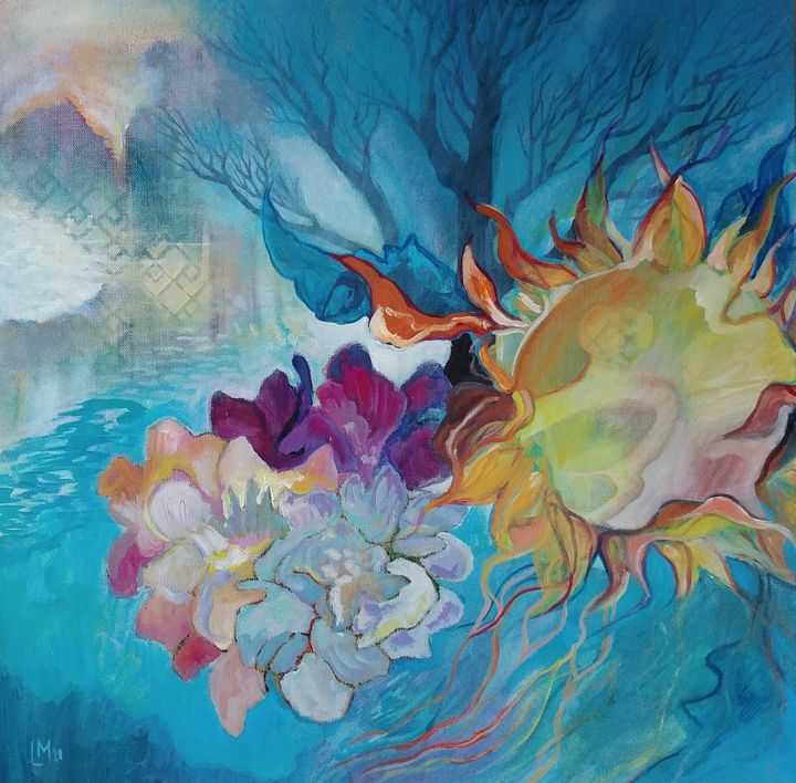 I Sit Among Clouds - Larissa McLean - Passionstems At The Mill