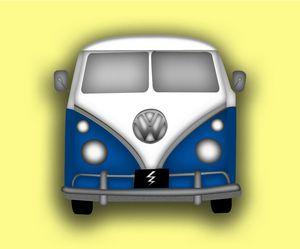 1960's Volkswagen van