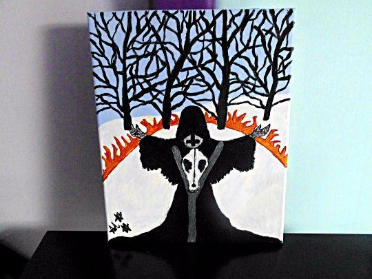 Black Magick Witch Priestess Ritual - Demona Alexis Black Arts